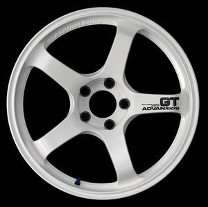 Advan Racing GT (Racing White) - 19X9.5 / 5x120 / +35