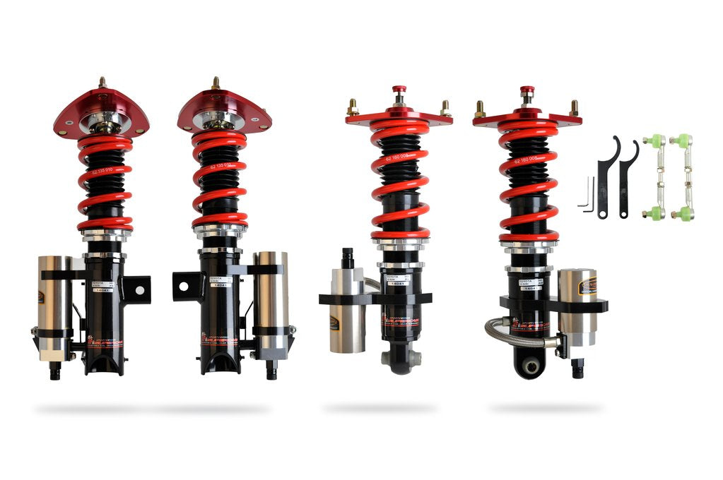 Pedders Extreme XA Remote Canister Coilover Kit - FRS/BRZ/86 - Kaiju Motorsports