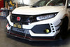 APR Performance Front Bumper Canards- Honda Civic Type-R FK8 - Kaiju Motorsports