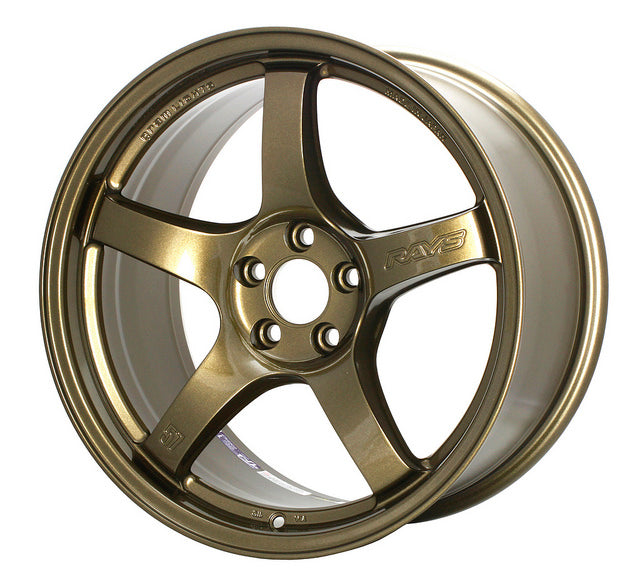 Gram Lights 57 CR (Almite Gold) - 19X9.5 / 5x120 / +35