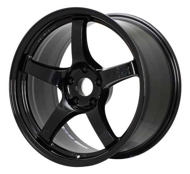 Gram Lights 57CR (Glossy Black) - 19X9.5 / 5x120 / +35 - Kaiju Motorsports