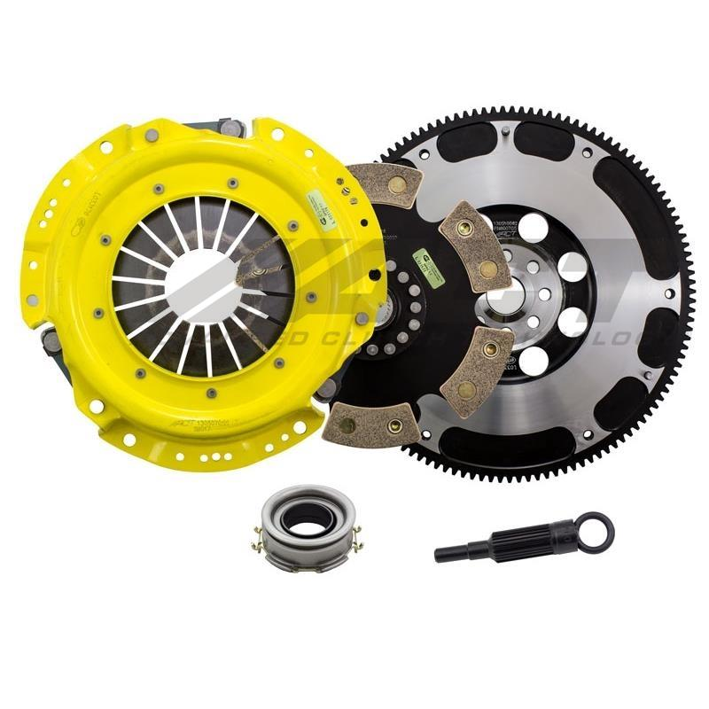 ACT Heavy Duty Solid Race Disc Clutch kit /w Flywheel - FRS/BRZ/86 - Kaiju Motorsports