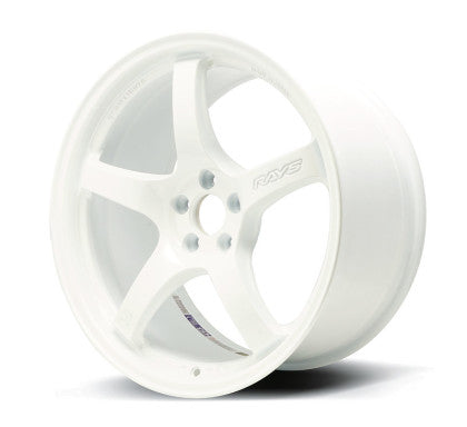 Gram Lights 57CR 17x9 +38 5x100 Ceramic White Pearl - Kaiju Motorsports