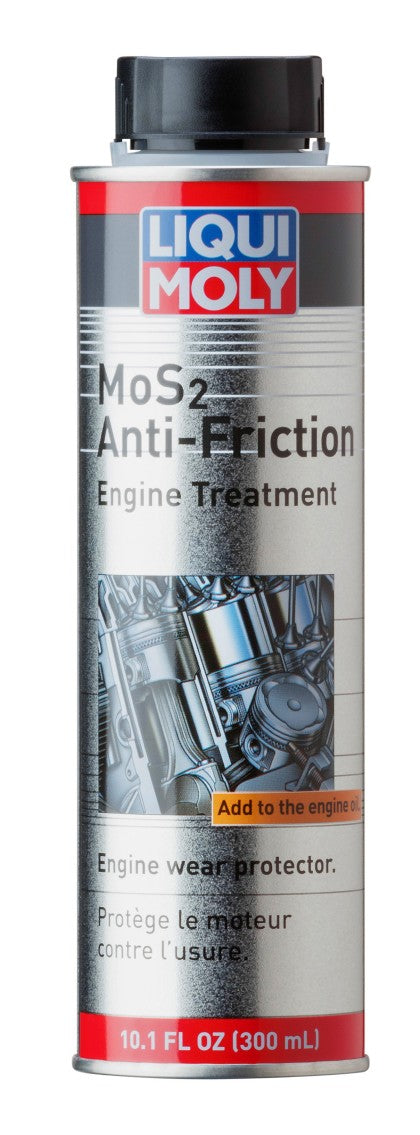 LIQUI MOLY 300mL MoS2 Anti-Friction Engine Treatment - Kaiju Motorsports