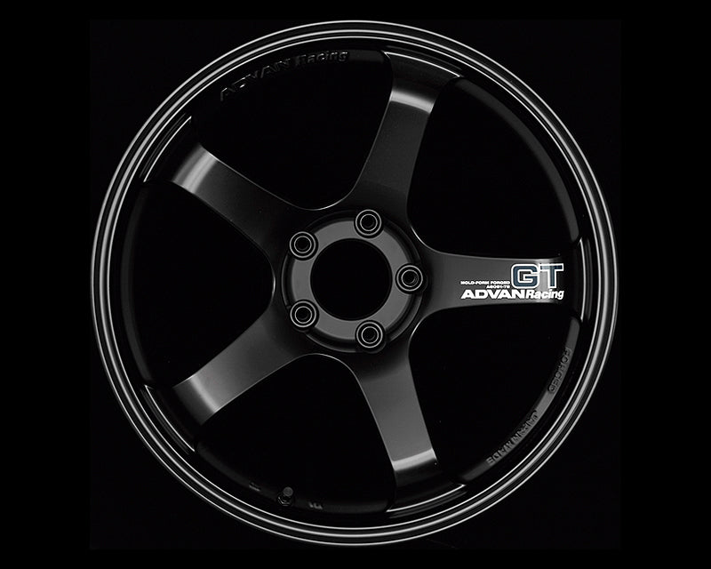 Advan GT 19x10.5 +15mm 5-114.3 Racing Semi Gloss Black - Kaiju Motorsports