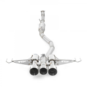 ARK Performance DT-S Exhaust (Polished) - Honda Civic Type-R FK8 - Kaiju Motorsports