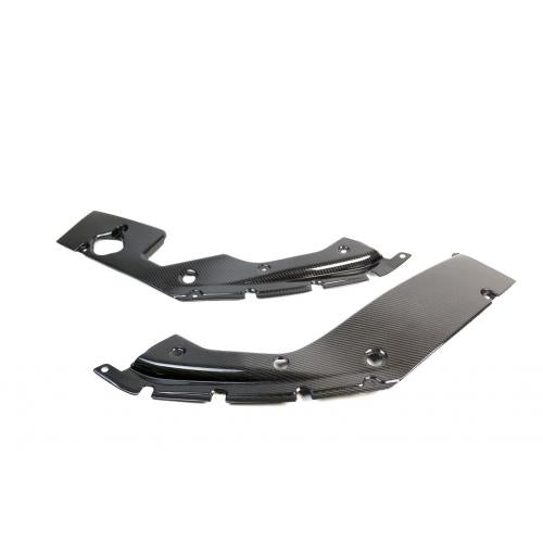 APR Performance Carbon Fiber Cooling Plate (Left+Right) - Honda Civic Type-R FK8 - Kaiju Motorsports