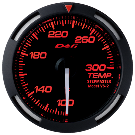 Defi Red Racer Temperature Gauge w/ White Needle (52mm) - Universal - Kaiju Motorsports