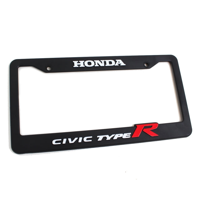 Honda Official Licensed Civic Type-R License Plate Frame - Kaiju Motorsports