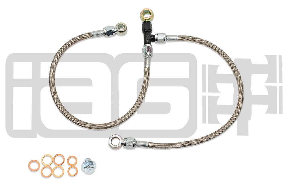 IAG Stock Location turbo Oil Feed & AVC's Line - Subaru STI 04-18, WRX 06-14 - Kaiju Motorsports