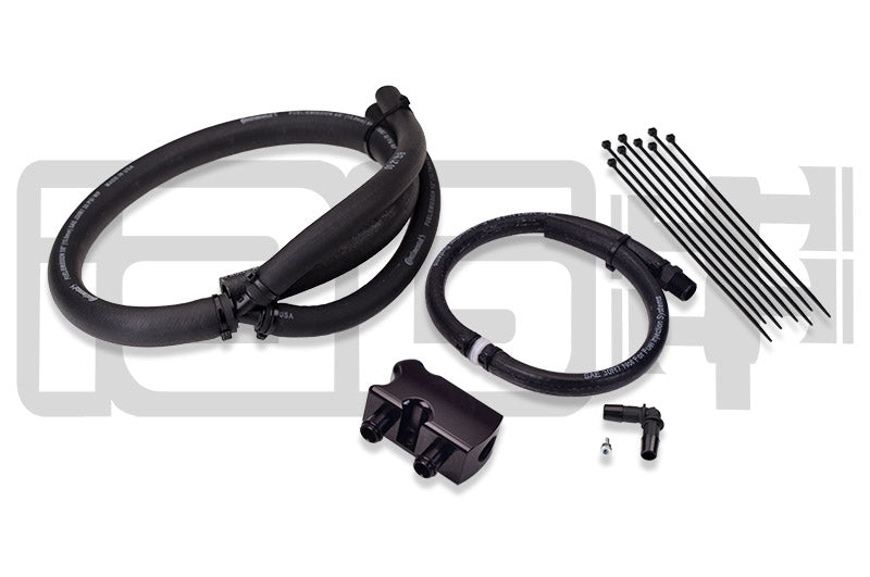 IAG Performance Air / Oil Separator (AOS) Competition To Street Series Conversion Kit - Subaru WRX 15-17 - Kaiju Motorsports
