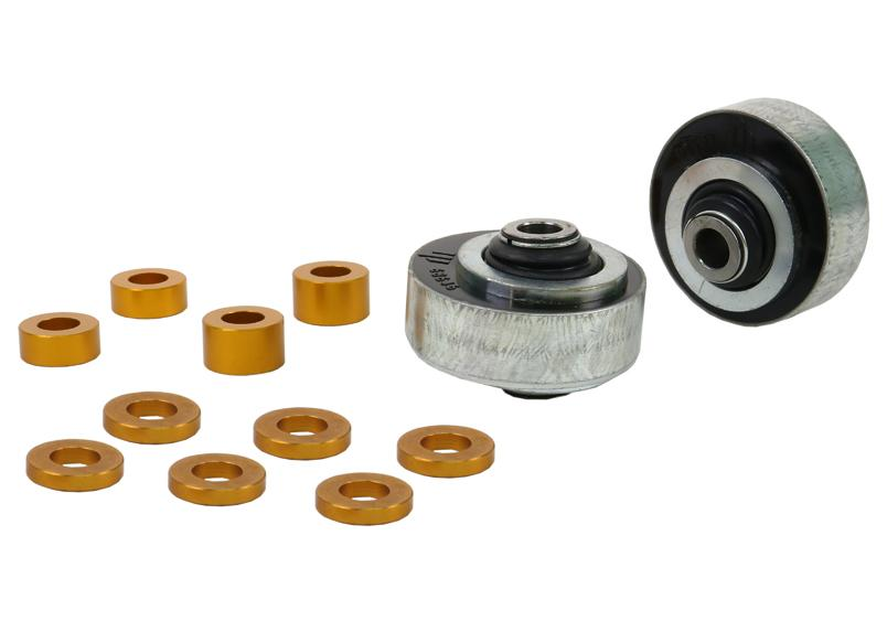 Whiteline Front Control Arm Lower Inner Rear Anti-Lift Caster Bushing- Subaru WRX / STI VA - Kaiju Motorsports