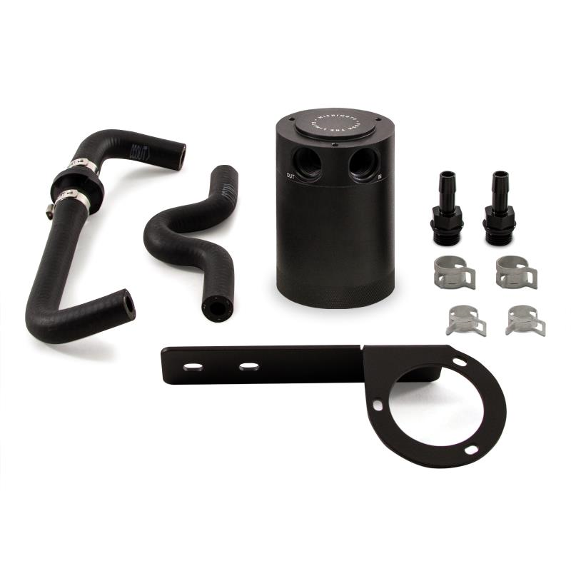 Mishimoto Baffled Oil Catch Can (Black) - Honda Civic Type-R FK8