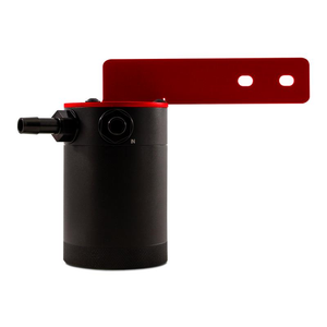 Mishimoto Baffled Oil Catch Can (Red) - Honda Civic Type-R FK8 - Kaiju Motorsports