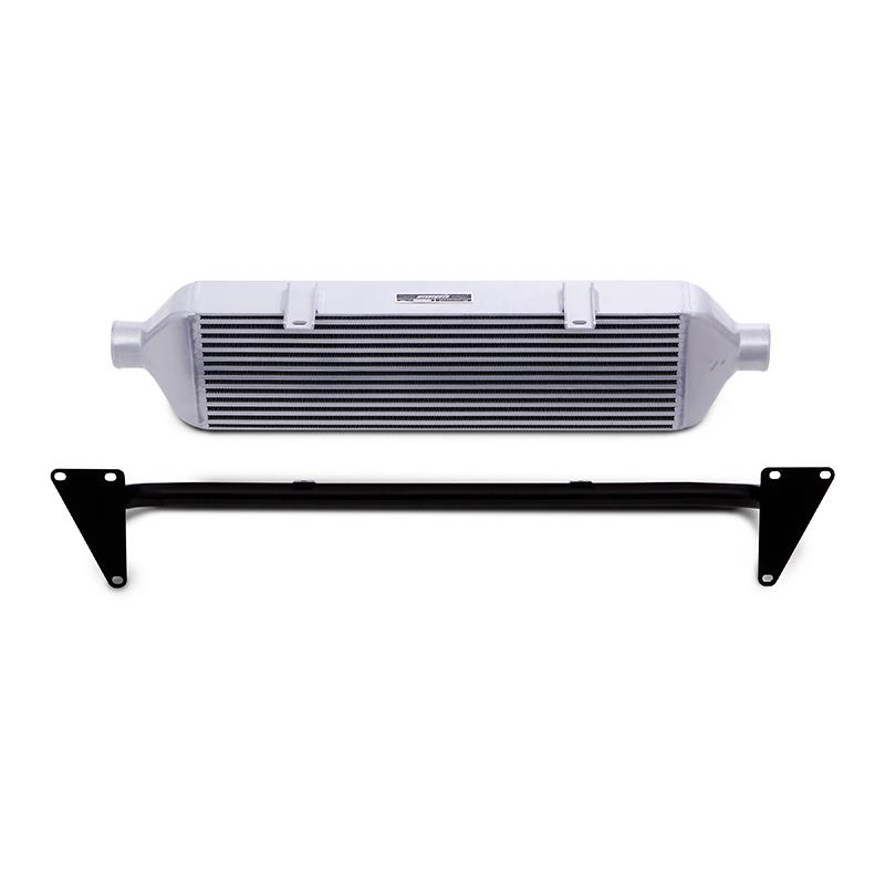 Mishimoto Front Mount Intercooler and Crash Beam (Silver) - Subaru STI VA - Kaiju Motorsports