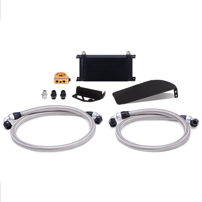 Mishimoto Oil Cooler Kit (Black) - Honda Civic Type-R FK8 - Kaiju Motorsports