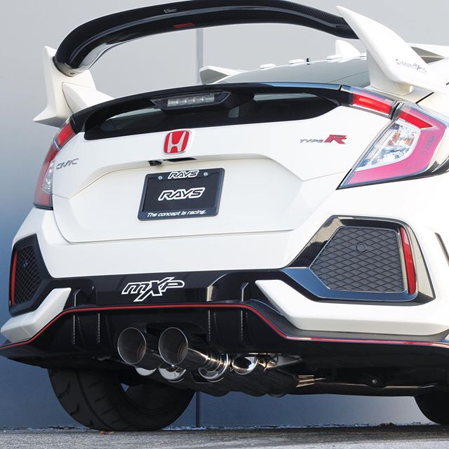 MXP Comp RS Exhaust - Type R FK8 - Kaiju Motorsports