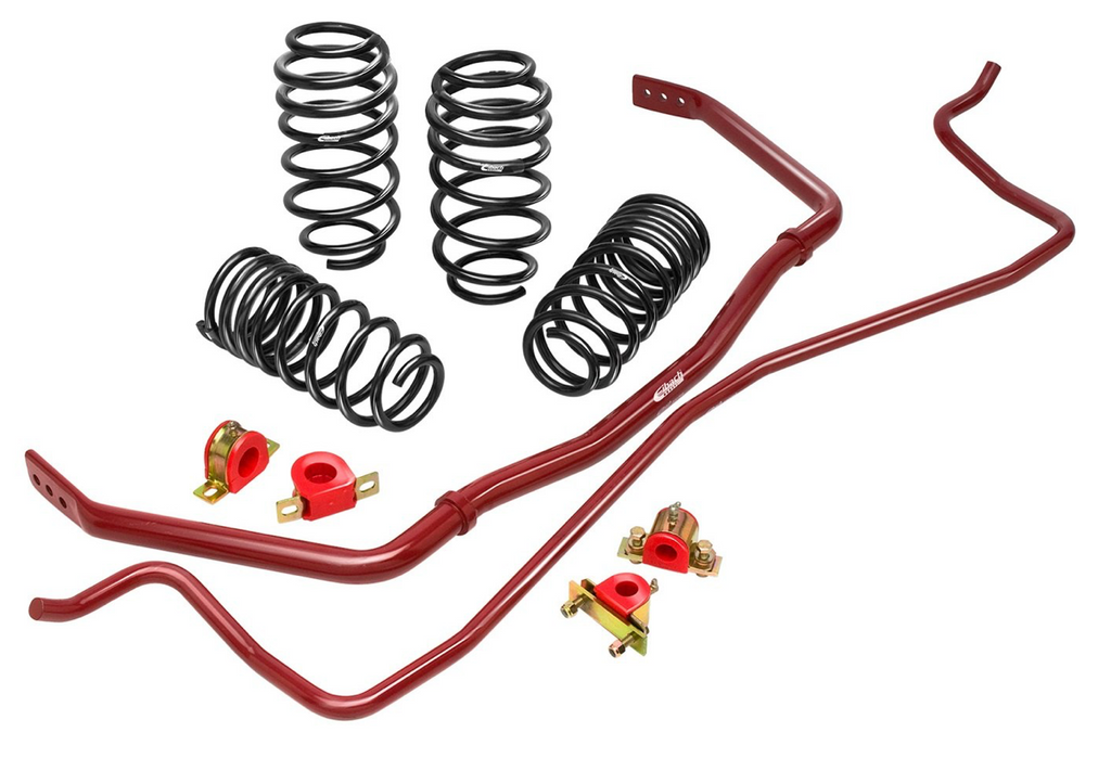 Eibach PRO-PLUS Kit (Pro-Kit Springs & Sway Bars)- Honda Civic Type-R FK8