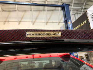 Password:JDM Dry Red Carbon Fiber Gurney Flap - Honda Civic Type-R FK8