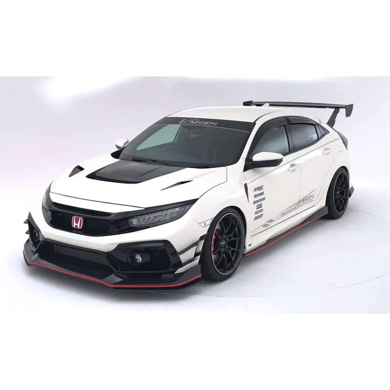 Varis Wide Front Fender Set (+10mm / FRP) - Honda Civic Type-R FK8 - Kaiju Motorsports