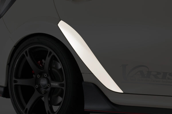 Varis Rear Fender Trim (FRP) - Honda Civic Type-R FK8 - Kaiju Motorsports