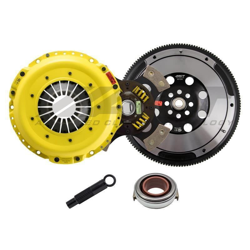 ACT HD Race 4 Pad Sprung Clutch Kit - Honda Civic Type-R FK8 - Kaiju Motorsports