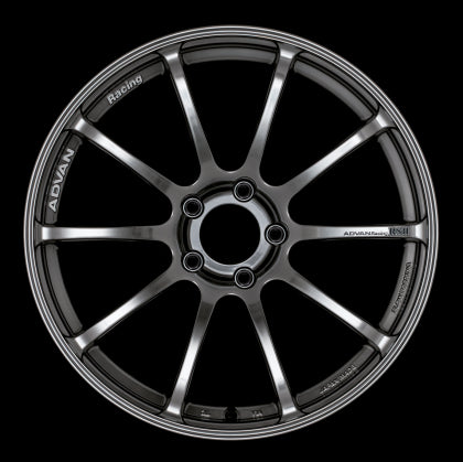 Advan RSII 18x9.5 +45 5x114.3 Racing Hyper Black Wheel - Kaiju Motorsports