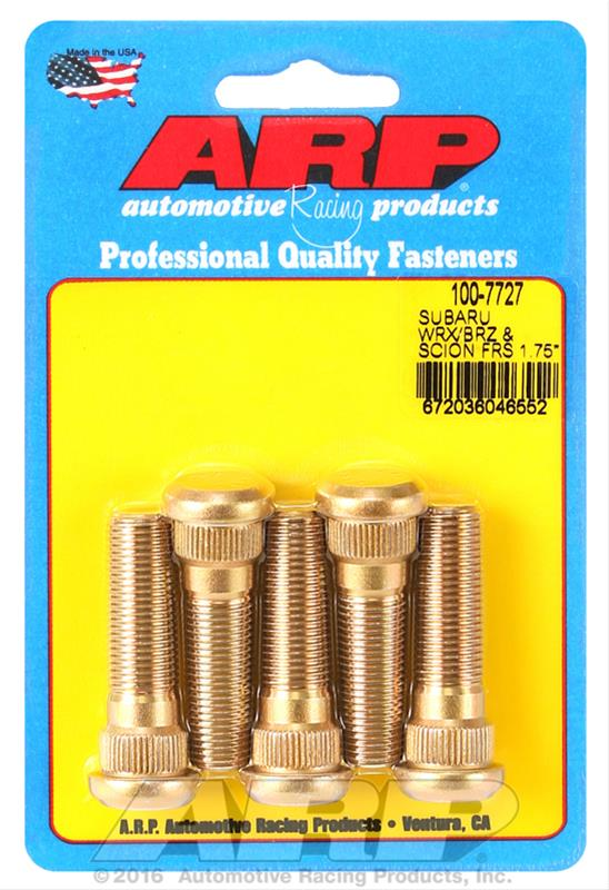 ARP Wheel Stud Kit 1.75in - Universal - Kaiju Motorsports