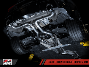 AWE Track Edition Exhaust - 2020+ Toyota Supra A90 - Kaiju Motorsports