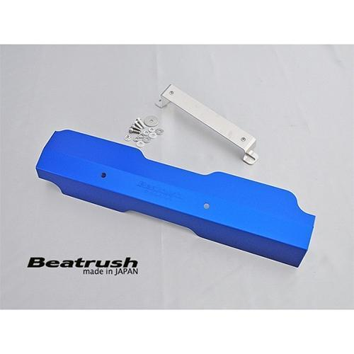 Beatrush Aluminum Pulley Cover Blue - Subaru STI VA - Kaiju Motorsports