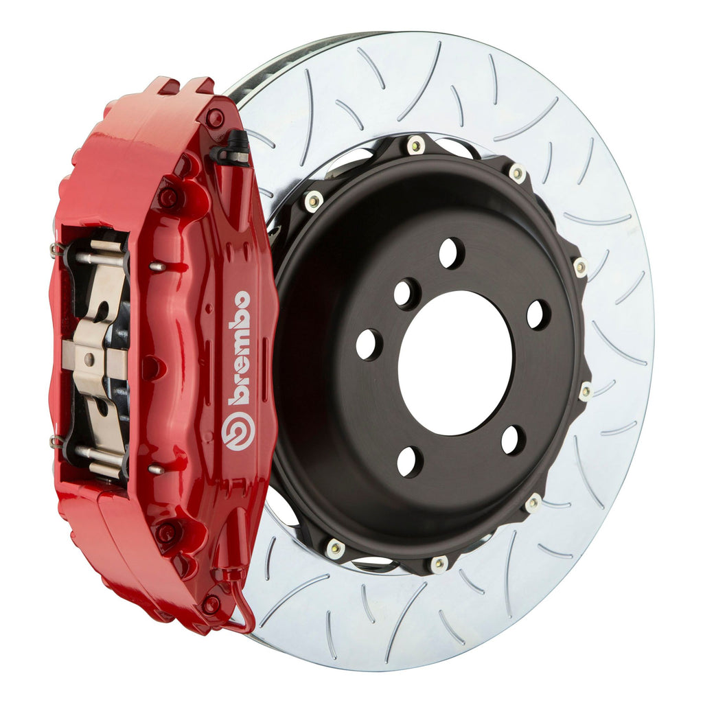 Brembo GT-R Systems 4 Piston Big Brake Kit Red (Front) - FRS/BRZ/86 - Kaiju Motorsports