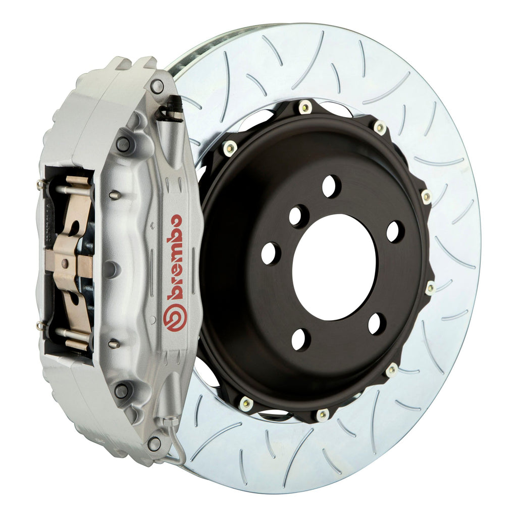 Brembo GT-R Systems 4 Piston Big Brake Kit Silver (Front) - FRS/BRZ/86 - Kaiju Motorsports