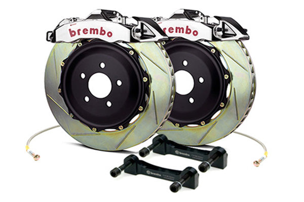 Brembo GT-R Big Brake Kit (Front/Drilled) - Honda Civic Type-R FK8 - Kaiju Motorsports