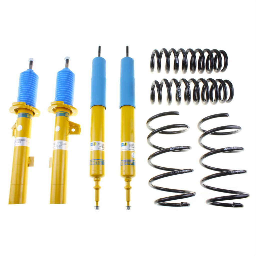 Bilstein B12 Pro-Kit Front and Rear Monotube Suspension Kit - Subaru WRX / STI VA