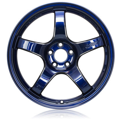 Gram Lights 57CR 18x10.5 +12 5X114.3 Eternal Blue - Kaiju Motorsports