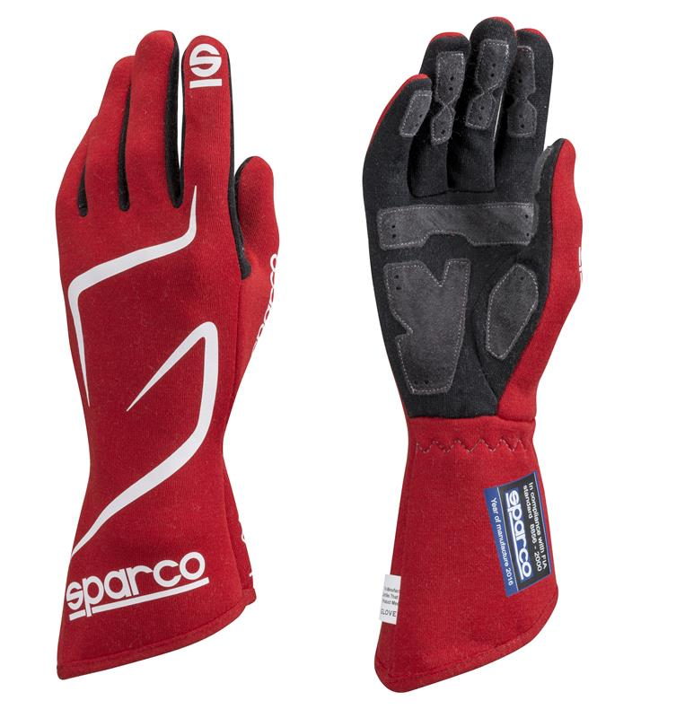 Sparco Gloves Land RG3 - Red - Kaiju Motorsports