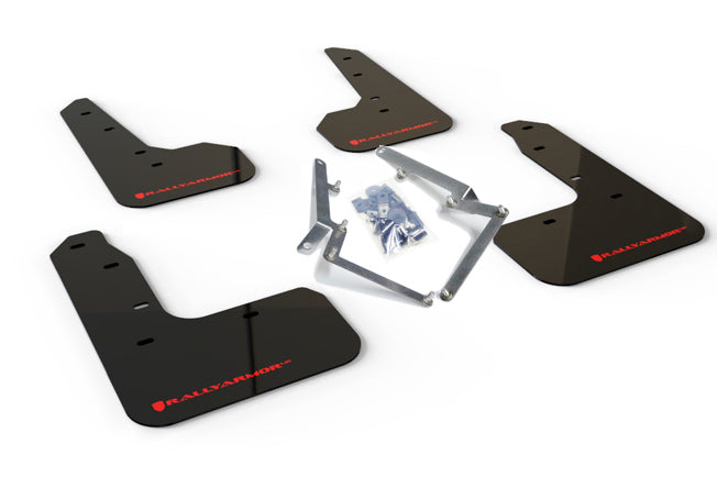 Rally Armor UR Black Mud Flap w/ Red - Civic Sport 10th Gen - Kaiju Motorsports