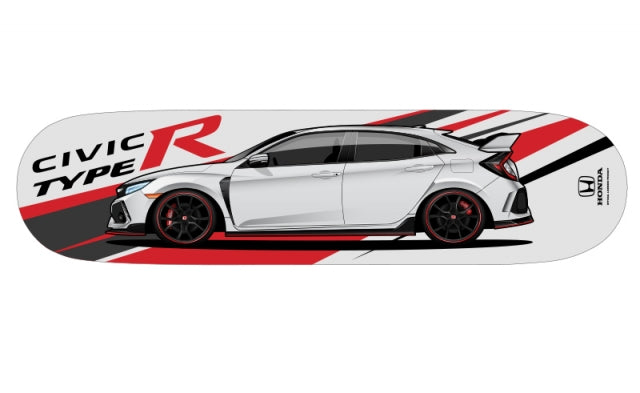 Honda Civic Type-R FK8 Skate Deck (Side Profile) - Kaiju Motorsports