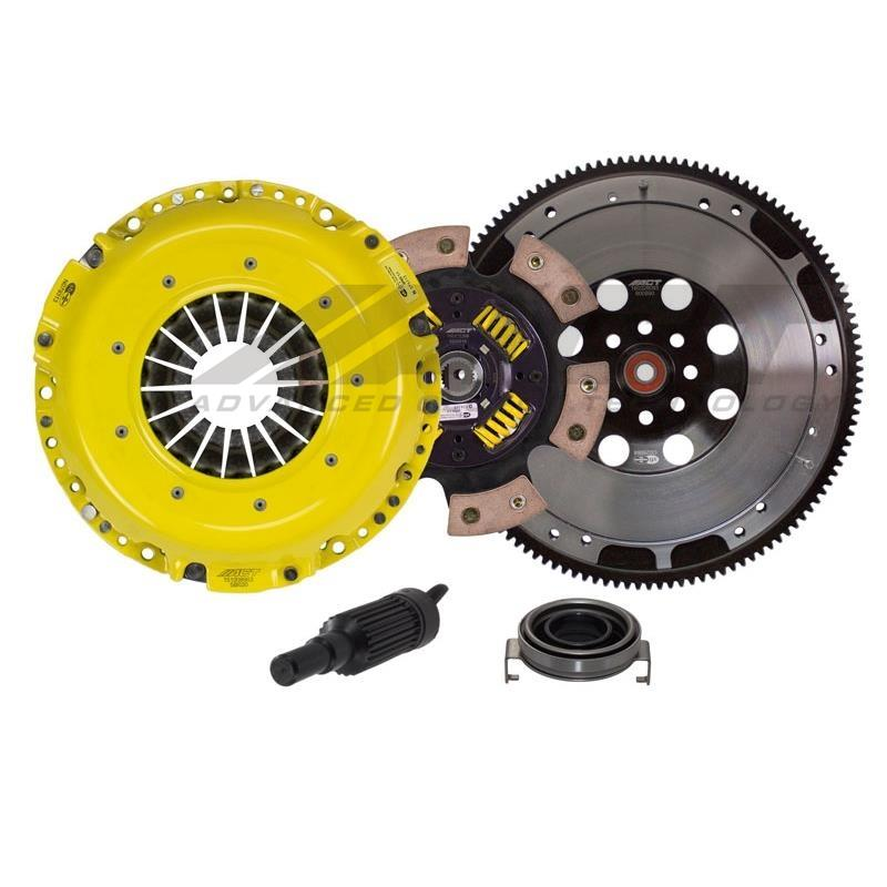 ACT Heavy Duty Race Sprung 6 Pad Clutch Kit w/ Flywheel - Subaru WRX VA - Kaiju Motorsports