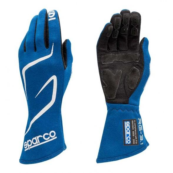 Sparco Gloves Land RG3 - Blue - Kaiju Motorsports