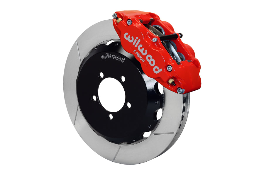 Wilwood FNSL6R 13.06in Front Slotted Big Brake Kit (Red) - Subaru STI VA - Kaiju Motorsports