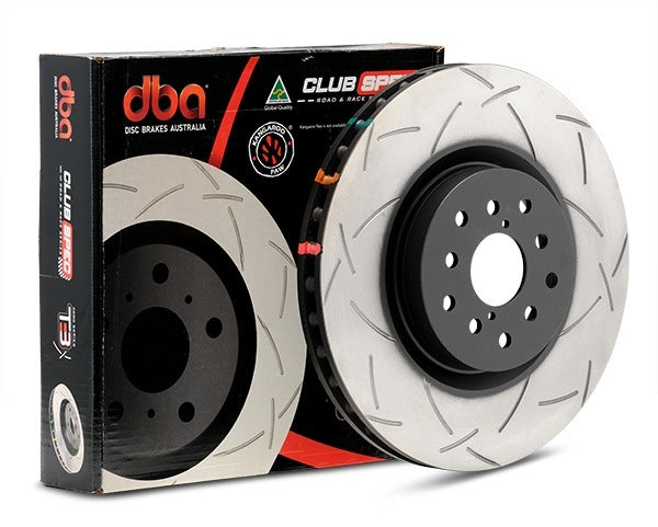 DBA 4000 Series T-Slot Slotted Rotor Pair (Front) - FRS/BRZ/86 - Kaiju Motorsports