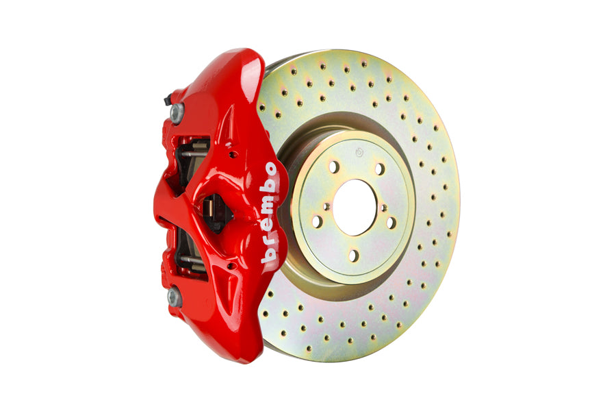 Brembo GT Systems Monobloc 4 Piston 326mm Cross Drilled (Front) - FRS/BRZ/86 - Kaiju Motorsports