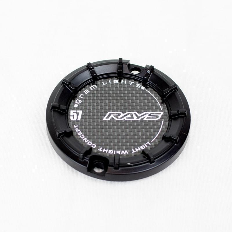 Gram Lights 57 Transcend Black Center Cap for 5x114.3 - Kaiju Motorsports