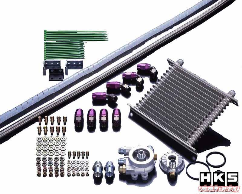 HKS S-Type Oil Cooler Kit - FRS/BRZ/86