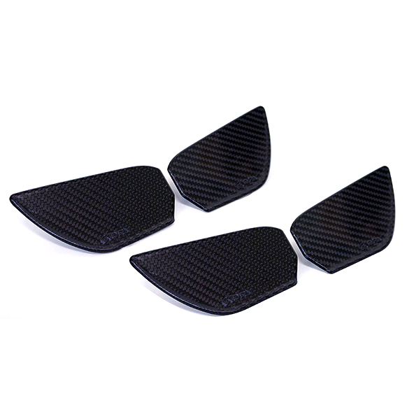 Revel GT Dry Carbon Inner Door Handle Trim - Honda Civic Type-R FK8 - Kaiju Motorsports