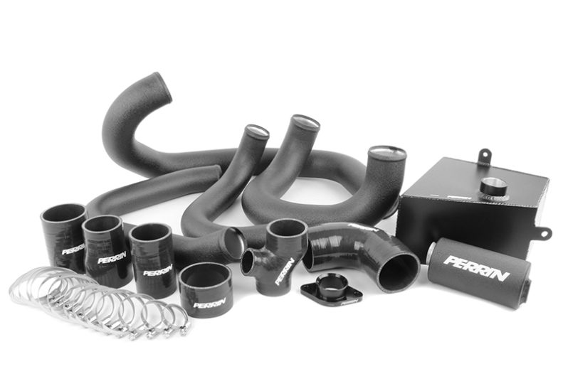 Perrin Boost Tube Kit (Black)- Subaru WRX VA