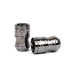 Project Kics T1/06 Monolith Lug Nuts - Glorious Black (20pcs) - Kaiju Motorsports