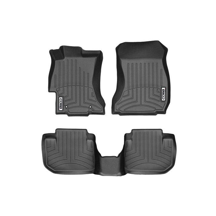 Cobb X Weathertech Floorliner & Rear Floorliner - WRX / STI VA