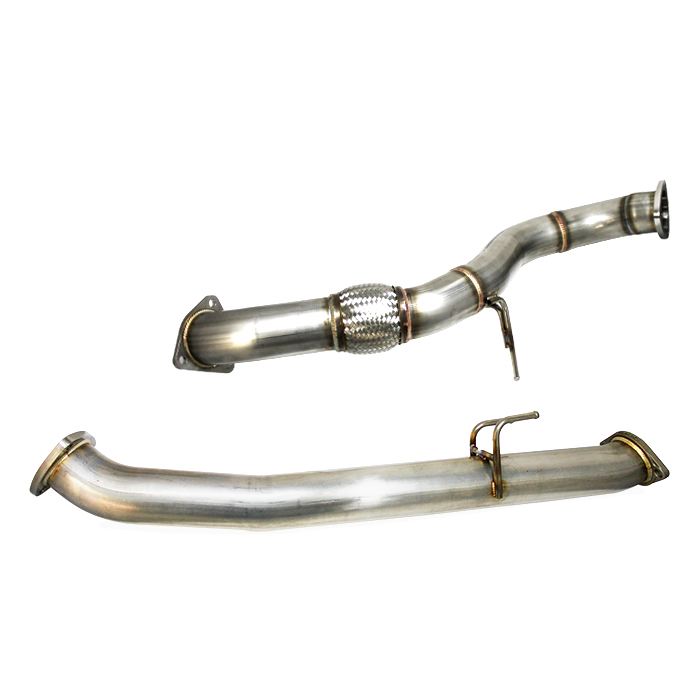 "GReddy Full 3"" Front Overpipe & Forward Midpipe Set - Honda Civic Type-R FK8 - Kaiju Motorsports"